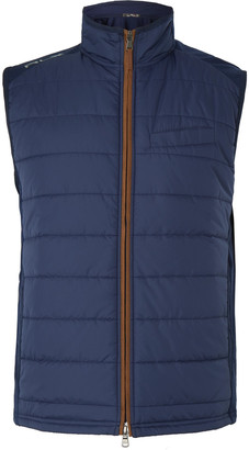 RLX Ralph Lauren Quilted Shell And Wool-Blend Golf Gilet