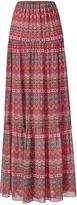 Diane von Furstenberg Baylee Chiffon Maxi Skirt