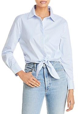 Aqua Tie Hem Shirt - 100% Exclusive