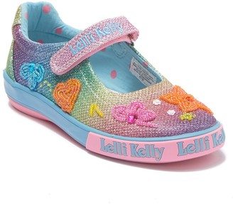 Lelli Kelly Kids Rainbow Bollom Dolly Mary Jane Sneaker (Toddler, Little Kid, & Big Kid)