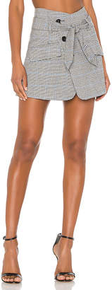 Marissa Webb Katrina Plaid Skirt