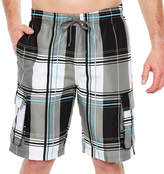 U.S. Polo Assn. Plaid Swim Shorts