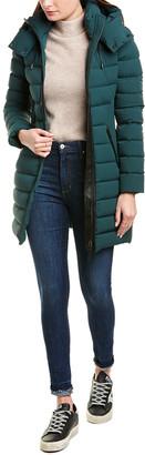 Mackage Farren Leather-Trim Down Coat