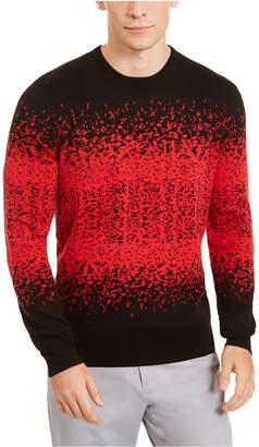 Alfani Men Ombre Rib Crewneck Sweater