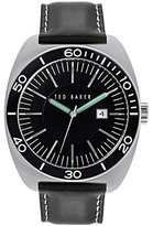 Ted Baker Men's 10024731 Sport Analog Display Japanese Quartz Black Watch