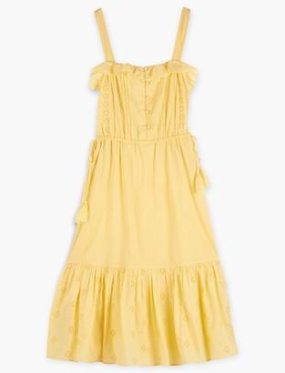 Lucky Brand Eyelet Beverly Dress