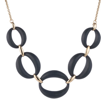 Alexis Bittar Large Lucite Link Necklace