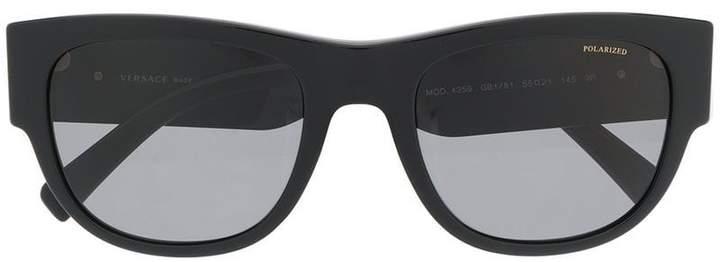 Versace Eyewear oversized round frame sunglasses
