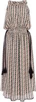 Apiece Apart Silk Crinkle La Rosa Halter Dress