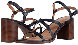 Madewell Sabine Skinny Strap Heeled Sandal (True Black) Women's Shoes