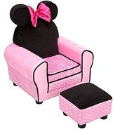 JCPenney Delta Children's ProductsTM Disney Minnie Mouse Upholstered Chair and Ottoman