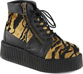 "Demonia CREEPER-571, 2"" Platform Lace-Up Creeper Bootie"