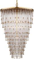 Visual Comfort & Co. Mia Large Pendant, Brass/Glass