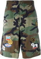 Htc Hollywood Trading Company camouflage cargo shorts