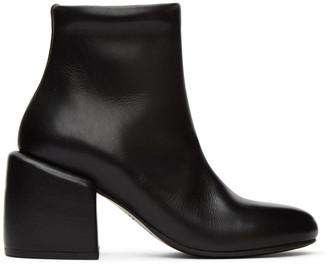 Marsèll Black Tondino Ankle Boots