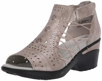 Jambu JBU by Women's Nelly Encore Wedge Sandal