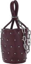 Alexander Wang Roxy Beet Stud Mini Bucket Bag