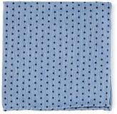 The Tie Bar Light Blue Shock Dots Pocket Square