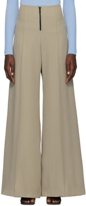 Kwaidan Editions Beige Wide-Leg Phat Trousers