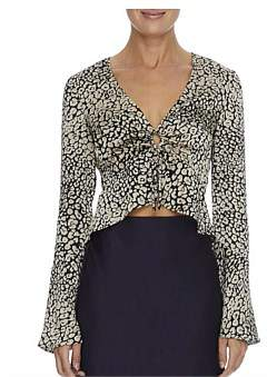 Lulu & Rose Carmen Leopard Top