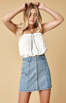 Somedays Lovin Bluebird Denim Mini Skirt