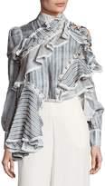 Zimmermann Women's Cavalier Antique Striped Shirt