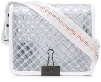 Off-White netted crossbody bag