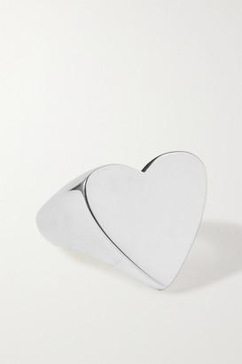 Sophie Buhai Net Sustain Heart Silver Ring