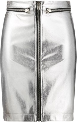 Philosophy di Lorenzo Serafini Zip-Up Mini Skirt