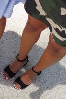 Bronx Elegant Suede Sandals