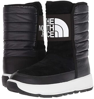 The North Face Ozone Park Winter Pull-On Boot (TNF Black/TNF White) Women's Cold Weather Boots