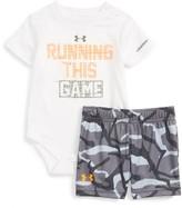 Under Armour Infant Boy's Running This Game Bodysuit & Shorts Set