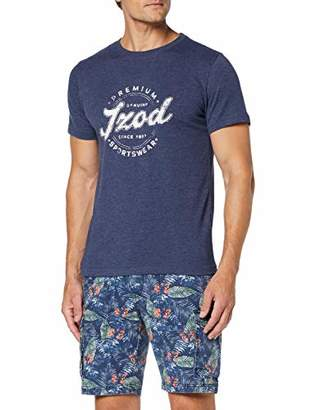 Izod Men's Premium Graphic Tee T-Shirt,((Size: XXX-Large)