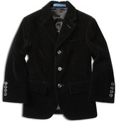 Ralph Lauren Boys' Velvet Jacket - Little Kid, Big Kid