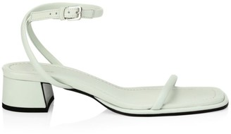 The Row Kate Leather Sandals