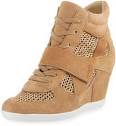 Ash Bowie Mixed Mesh Wedge Sneaker