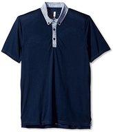Howe Men's Freestone Short Sleeve Knit Polo