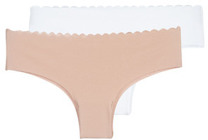 Dim BODY TOUCH X2 women's Shorts in Beige