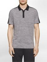Calvin Klein Performance Heathered Polo Shirt