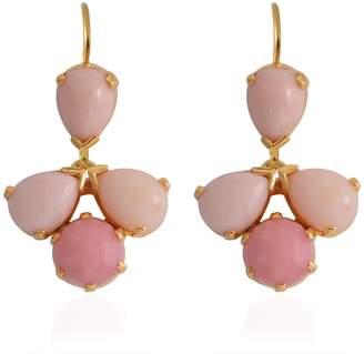 Emma Chapman Jewels Coachella Pink Opal Drop Earrings