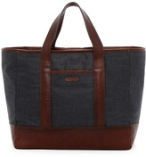Cole Haan Grafton Leather Trimmed Tote