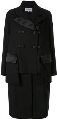 Dice Kayek deconstructed double breasted coat