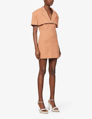 Jacquemus La robe Gardian woven mini dress