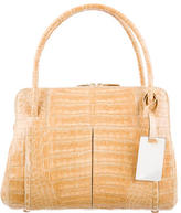Nancy Gonzalez Small Crocodile Linda Satchel