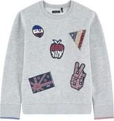 Ikks Sweatshirt with patches