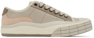 Chloé Pink and Grey Clint Sneakers