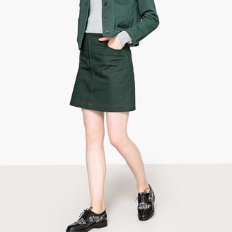 La Redoute Collections Short Cotton Skirt