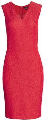 St. John Refined V-Neck Knit Dress