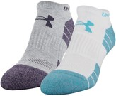 Under Armour UA Golf Elevated Performance No Show Socks - 2 Pack