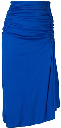 Emilio Pucci Ruched Mid-length Skirt